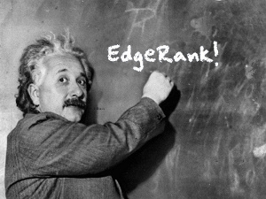 EInstein Edgerank Facebook