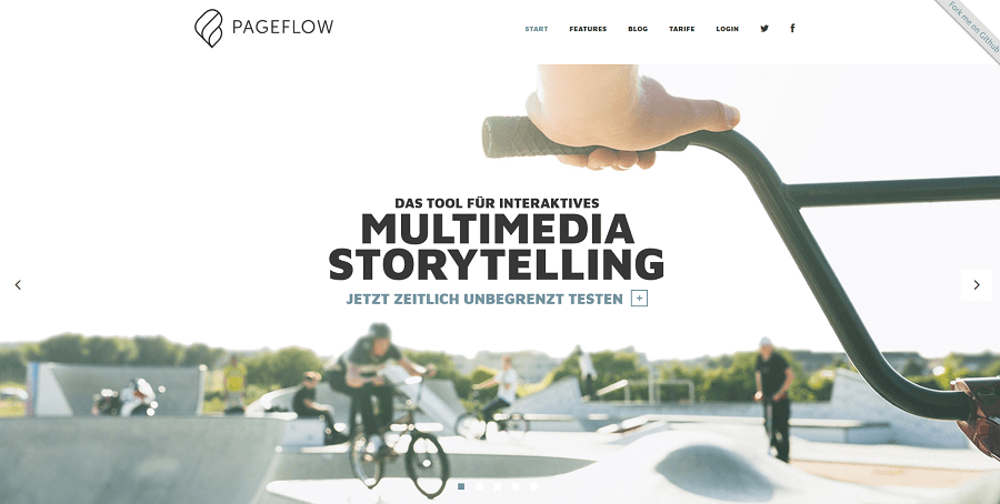 Multimedia Storytelling mit Pageflow