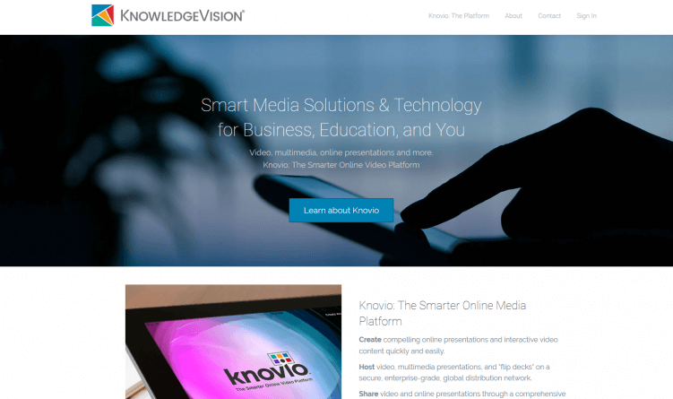 knowledgevision-content-marketing-tool