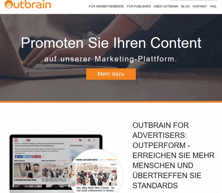 outbrain-content-marketing-tool