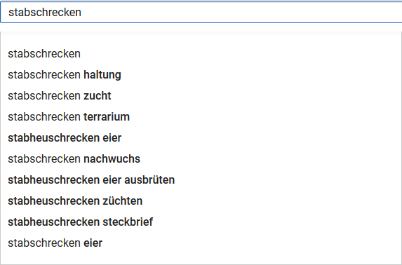 youtube-suggest